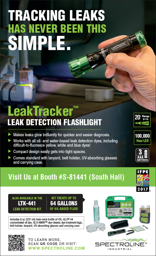 leak tracker ad for IMPO